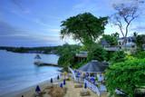 Fototapety Beach at Montego Bay, Jamaica, Carribean