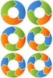Chevron Diagram Set poster