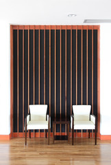 Simply wooden chairs