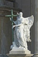 angel marble sculpture