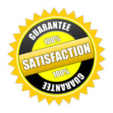 stamp satisfaction guarantee poster