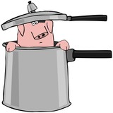 Pig In A Pressure Cooker poster