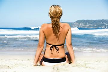 Waiting Surfer