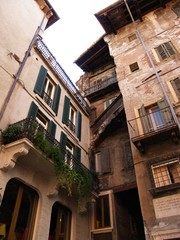 case antiche a Verona, Italia