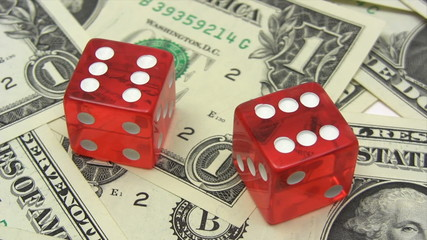 Red Dice on Dollars