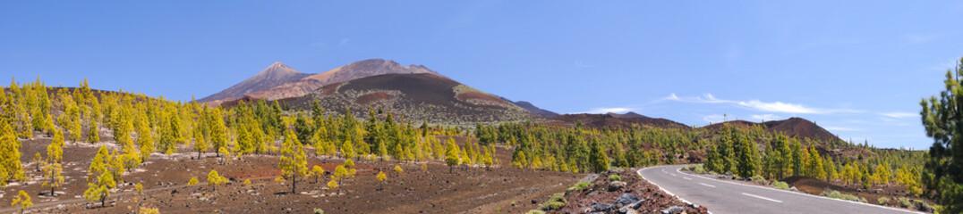 Volcanos in Tenerife