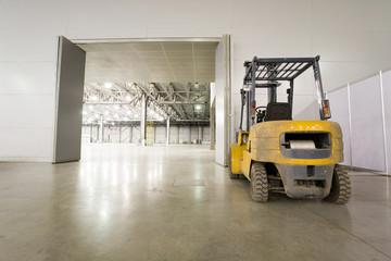 Loader in modern storehouse