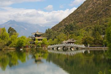 Black dragon pool, Lijiang, China