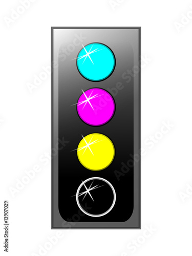 Traffic Light CMYK