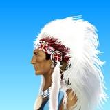uomo apache poster
