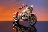 Fototapete Abenteuer - Urlaub - Motorrad / -roller