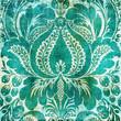 roleta: turquoise background