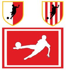 colori sociali calcio bianco rosso