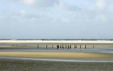 sunny Schiermonnikoog beach