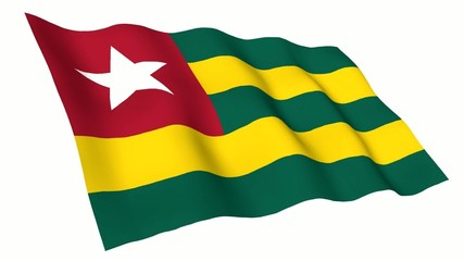 Togo Animated Flag