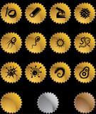 Biology Star Sticker Set poster