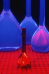 Range of scientific beakers