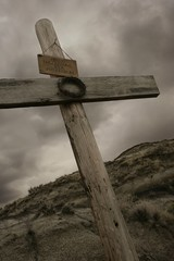 The rugged cross