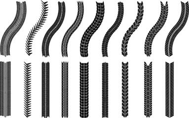 illustration of tires