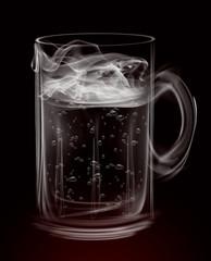 Artistic Smoke Beer Mug