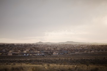 Housing development in New Mexico