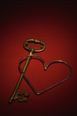 Key and a heart