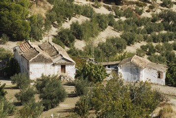 Old Farmhouse and Outbuildings in Andalucia, Spain...