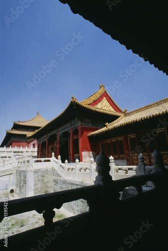 The Forbidden City in Beijing, China..