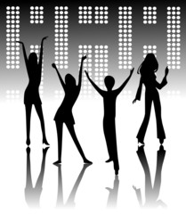 People Disco Dance Design