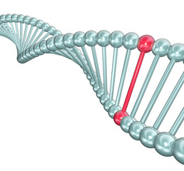 DNA Helix Illustration - One Different