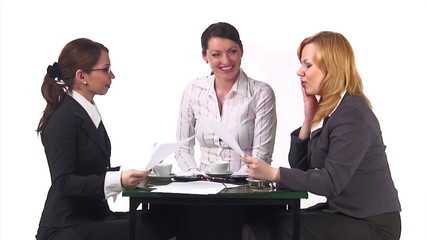 Episode #1, Woman talk at office