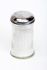 Sugar container isolated