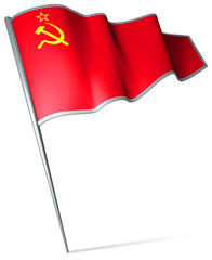Flag pin - Soviet Union (1922-1991)