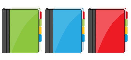 Adress book icons