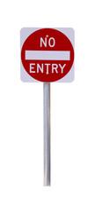 Reflective No Entry Sign