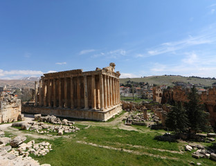 Baalbeck, Wide Angle View