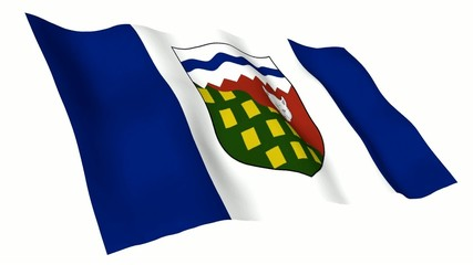 Northwest Territories Animated Flag