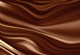 Molten chocolate background poster