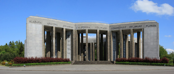 Le Mardasson, célébrant la fin de la bataille des Ardennes