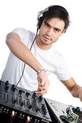 DJ plays set i