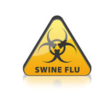 Swine Flu Biohazard poster