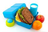 Fototapety lunch box