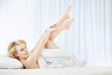 Morning pampering poster