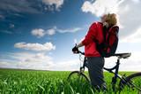 Fototapety relax biking