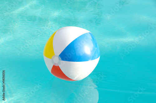 Beach ball In The Pool - 14016056