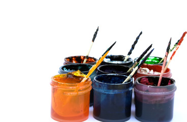 Pots of Gel Based Icing Colorant in Assorted Colors