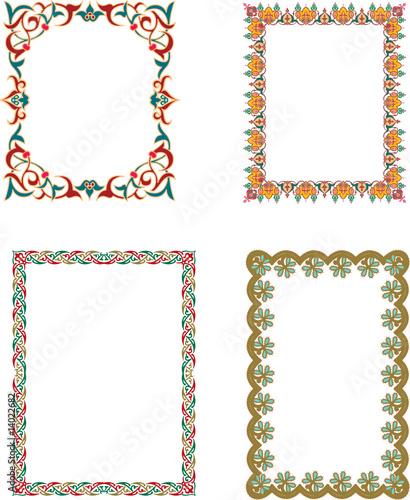 Arabic Art Borders