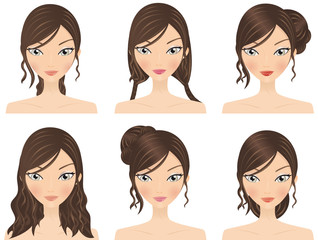 Hairstyles + Makeup