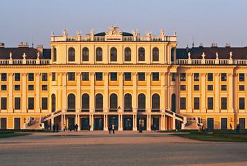 Schonbrunn palace in  Vienana, Austria