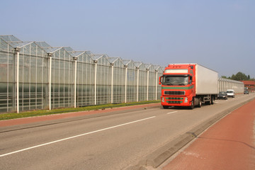 Greenhouses and Truck